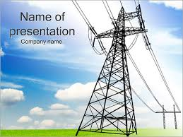 ppt templates for electrical engineering high voltage lines powerpoint template backgrounds id 0000002204