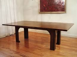 Modern Wood Dining Room Table Salvaged Wood Dining Table Dans Design Magz