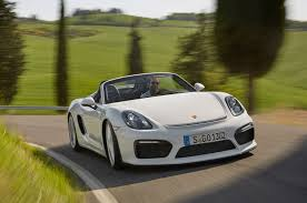 modified porsche boxster 2016 porsche boxster spyder debuts in new york with 375 hp