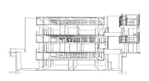 louis kahn salk institute section http architangent com 2011