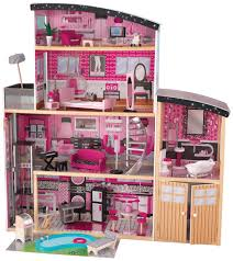 Dollhouse Decorating by Decorating Awesome Kidkraft Dollhouse In Four Tier Design With