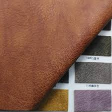 Leather Fabric For Sofa 1 3mm Vintage Leather Synthetic Leather Faux Leather Fabric Pu