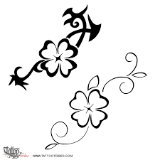 tattoo of 4 leaf clover good luck tattoo custom tattoo designs