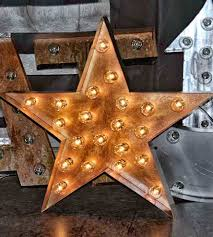 metal star marquee sign home decor lighting top line metal star marquee sign with a bright nod to vintage marquee signs this metal