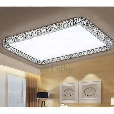 Flush Kitchen Lights by Rectangle Led Bedroom Modern Flush Mount Ceiling Lights