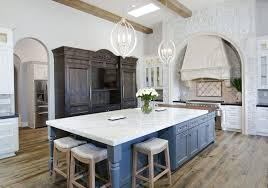 rustic blue gray kitchen cabinets 35 beautiful rustic kitchens design ideas designing idea