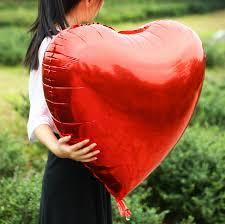 heart balloons heart balloons foil balloons 36 inch 72 cm large big heart