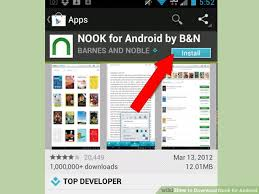 nook for android how to nook for android 4 steps with pictures