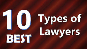 top 10 best types of lawyers youtube