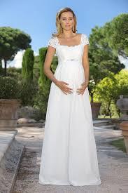 brautkleider schwangerschaft brautkleider für schwangere umstandsmode für die hochzeit