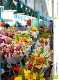 flowers for sale flowers for sale at pike place market seattle stock photo image