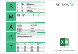 goals and objectives template excel 28 templates search