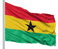 Blue Flag With White Star In The Middle Ghana Flag Colors Meaning U0026 History Of Ghana Flag