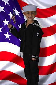 Boys Military Halloween Costumes Navy 4 Pc Kids Crackerjack Uniform Navy Usn Uniform Kids
