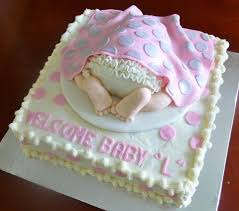 21 perfect baby bottom cakes for baby showers stylish eve