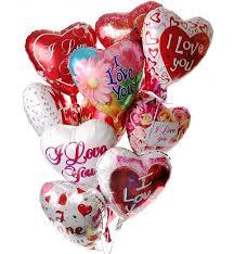 heart balloon bouquet s day balloon bouquet 12 mylar balloons make