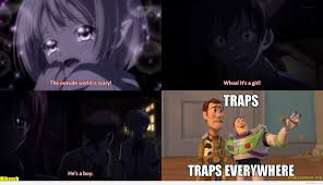Everywhere Meme - otaku meme 盪 anime and cosplay memes 盪 traps are everywhere