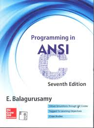 buy programming in ansi c book online at low prices in india