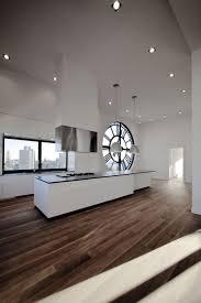 Office Kitchen Design Charming White Loft Office Kitchen Ideas With Black Countertop