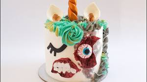 buy halloween cakes zombie unicorn halloween cake rosie u0027s dessert spot youtube