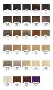 Hair Color Wheel Chart Colour Chart Simplyhair