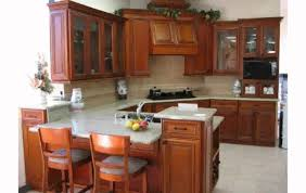 creative giallo ornamental granite with cherry cabinets 17 to your