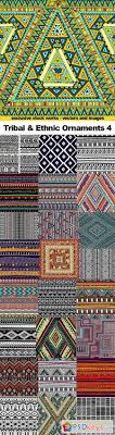 tribal ethnic ornaments 4 25x eps free photoshop