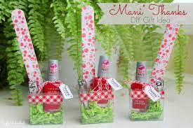 manicure set favors diy gift idea for thanks manicure set