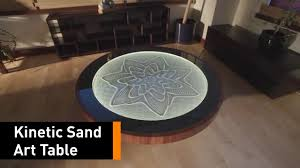 this coffee table doubles as a kinetic art exhibit youtube