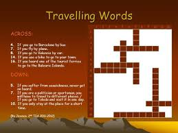 travel words images Travelling words authorstream jpg