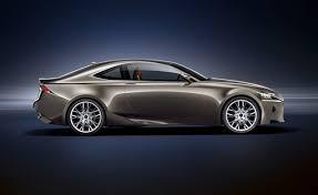 lexus coupe 2014 2014 lexus is previewed in lf cc coupe concept autoguide com