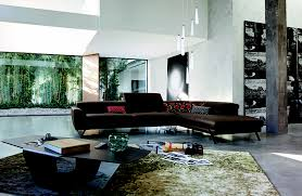 roche bobois astoria modular sectional sofa in leather design