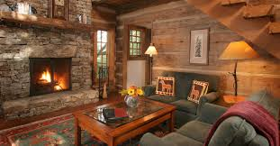 Two Story Fireplace Luxury Waynesville Nc Lodging All Inclusive Resort