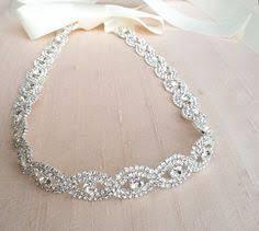 rhinestone headbands ivory pearl headband in silver ribbon headbands ivory
