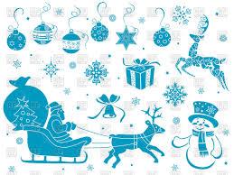 winter decorations clipart clipartxtras