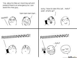 Meme Telephone - awkward call by mydailylife meme center