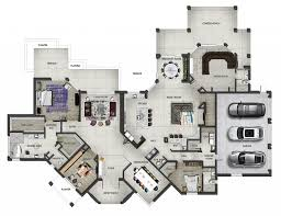 Floor Plan Furniture Clipart 2d Marketing Floor Plans Architectural Visualization Key Vision