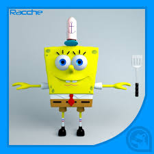 spongebob squarepants 3d models for download turbosquid