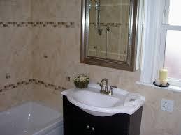 bathroom dark brown wood mirror dark brown vanity cabinets white