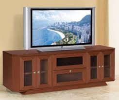 70 Inch Console Table Modern 70 Inch Tv Stand Tv Console In Dark Cherry Finish Fow