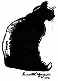black cat silhouette free download clip art free clip art on
