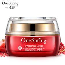 Krim Wajah satu musim semi alami merah delima esensi krim wajah pemutih kulit