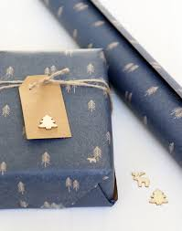rustic christmas wrapping paper rustic christmas wrapping paper blue wrap from paper tree