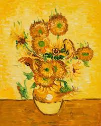 Vase Of Sunflowers Vase With Fifteen Sunflowers Vincent Van Gogh