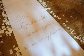 ivory aisle runner starry design studio inc aisle runners