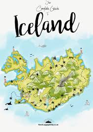 Iceland On Map The Complete Guide On Things To See And Do In Iceland Hand