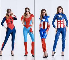 Captain Marvel Halloween Costume Popular Halloween Hero Costumes Buy Cheap Halloween Hero Costumes