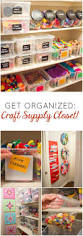 the craft supplies closet of my dreams craft organizations and
