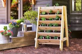diy vertical herb garden how to build a vertical herb or lettuce planter bonnie plants