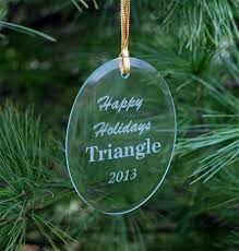 triangle fraternity glass ornaments sale 14 95 gear